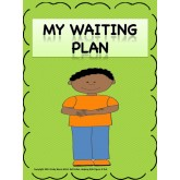 My Waiting Plan: A Plan And Strategy Activity