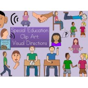 Visual Directions Clip Art