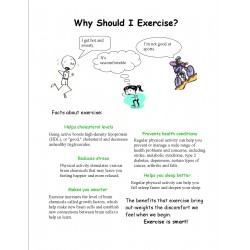Social Tale Why Should I Exercise?