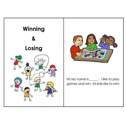 Winning & Losing Social Story