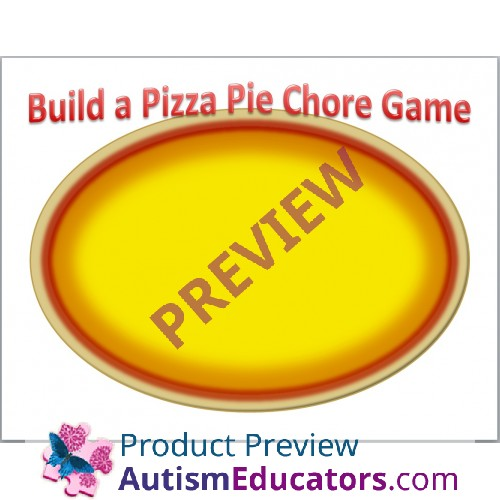 Build A Pizza Pie Printable Chore Game