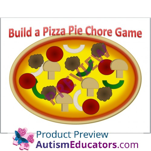 picture regarding Pizza Printable known as Acquire A Pizza Pie Printable Chore Recreation