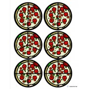 """Pizza"" Fraction Circles for Autism"