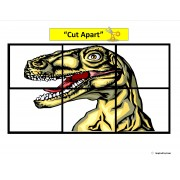 """Dinosaur"" Simple Puzzles for Autism"