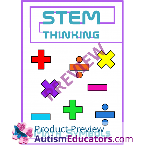 Symbols Add Subtract Multiply Divide Clip Art