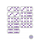 Dominoes Math Clip Art, Games, Centers, Activities- 210 Images