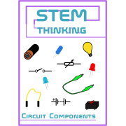Electricity and Electrical Circuit Components Clip Art- 40 Images
