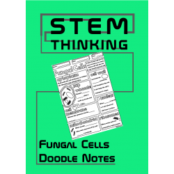 Structure of a Fungal Cell Biology Middle School Doodle Notes