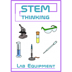 Science Lab Equipment Clip Art- 46 Images, Chemistry, Biology, Physics