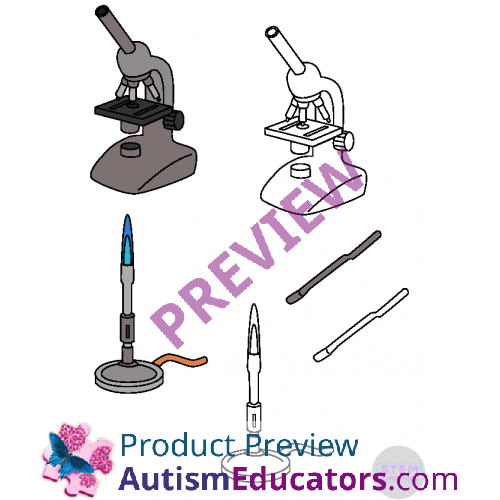 Science Lab Equipment Clip Art 46 Images Chemistry Biology Physics