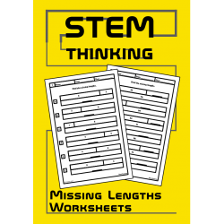 Find the Missing Lengths Pre Algebra Math Worksheets
