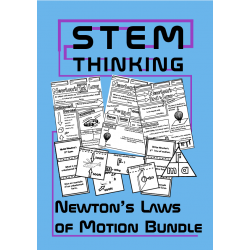 Newton's Laws of Motion Physics Bundle