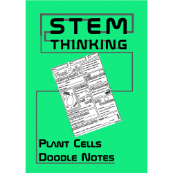 Structure of a Plant Cell Biology Middle School Doodle Notes