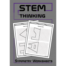 Shape Symmetry Drawing Math Worksheets