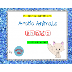 Arctic Animals - Bingo