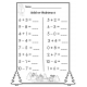 December - Kindergarten Activities - Math & Reading Skills