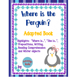 Where is the Penguin? Adapted Book