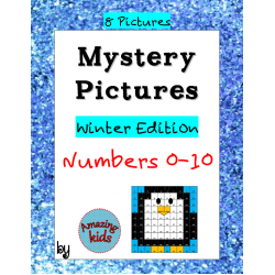 Mystery Pictures - Winter Edition - Numbers 0-10
