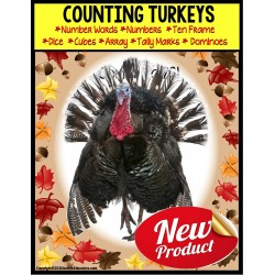 TURKEYS – Counting Up To 20 with Data and IEP Goals