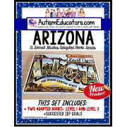 ARIZONA Adapted Book for Visual Learners AUTISM and SPECIAL EDUCATION