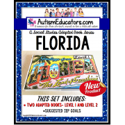 FLORIDA Adapted Book for Visual Learners AUTISM and SPECIAL EDUCATION