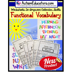 Autism Life Skills Worksheets Worksheets for all | Download and ...