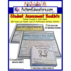 IEP Goals and PLP Statement Starters with Skills Assessment SPECIAL EDUCATION