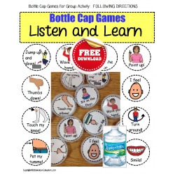 FREE Games for Autism - Following Directions In a Small Group