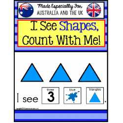 Shapes Adapted Book for Australia and UK