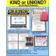 "KIND or UNKIND Social Media Comments TASK CARDS ""Task Box Filler"" SOCIAL SKILLS"