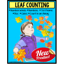 AUTUMN LEAVES – Count Up To 20 with Data and IEP Goals