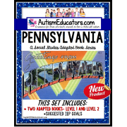 PENNSYLVANIA State Symbols ADAPTED BOOK for Special Education and Autism