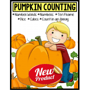 PUMPKINS – Counting To 20 with Data and IEP Goals