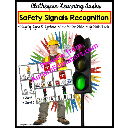 Skills Safety Signs And Symbols 48 Task Cards