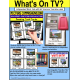 PICTURE COMPREHENSION Task Cards - What's On TV TASK BOX FILLER