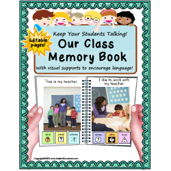 Beginning to End of School Year MEMORY BOOK for Your Special Education Classroom