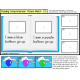 Reading Comprehension LARGE Task Cards for Special Education/AUTISM with DATA