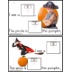 Autism - Build A Sentence with Pictures Interactive - HALLOWEEN