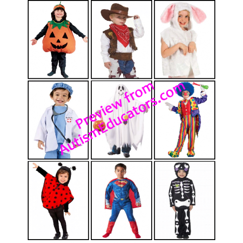 free halloween wh questions file folder game - Halloween File Folder Games
