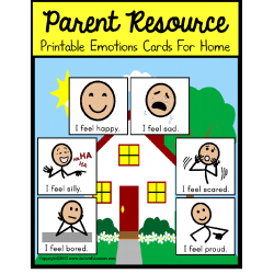 FREE Autism Parent Resource EMOTIONS CARDS FOR HOME