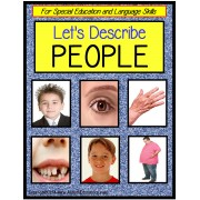 Describing Words About PEOPLE for Special Education and Language Skills