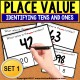 """PLACE VALUE Task Cards IDENTIFYING TENS AND ONES """"Task Box Filler"""" for Autism"""