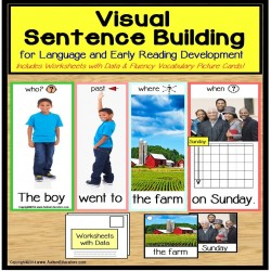 Special Education Visual Sentence Building for Early Readers