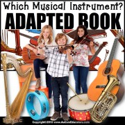 Adapted Book: WHICH MUSICAL INSTRUMENT – Special Education Resource for Reading