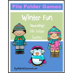 Winter Fun File Folder Games