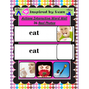 Actions Interactive Word Wall