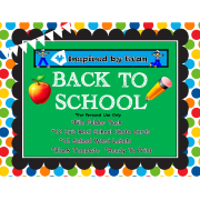 Back to School Words File Folder Task for Autism