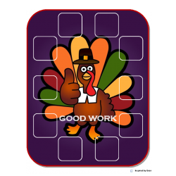 Thanksgiving Behavior Token Boards for Autism