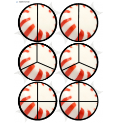 Peppermint Candy Fractions
