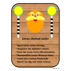 Lorax Inspired Letters